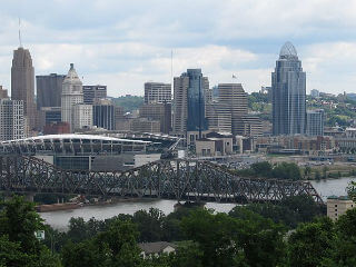 Image of Cincinnati, OH skyline