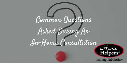 Common Questions | Free In-Home Consultation | Senior Care Blog | Home Helpers Bradenton FL