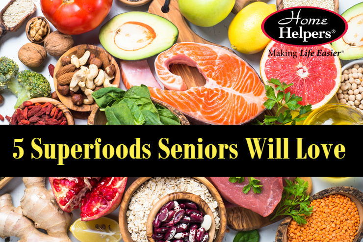 5 Superfoods Seniors Will Love