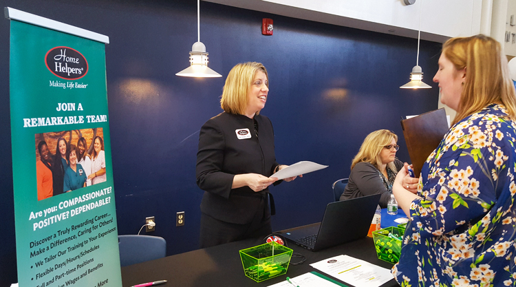 Job Fair at Bucks County Community College