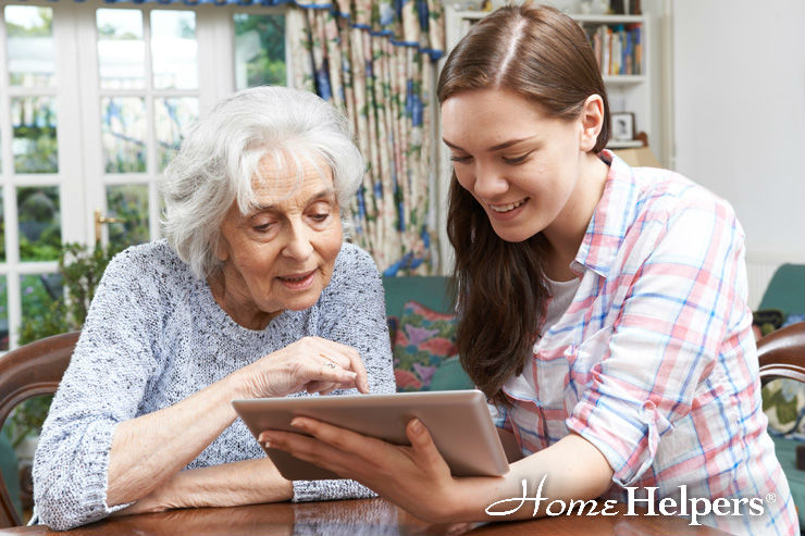 Helping Seniors Utilize Smart Technology