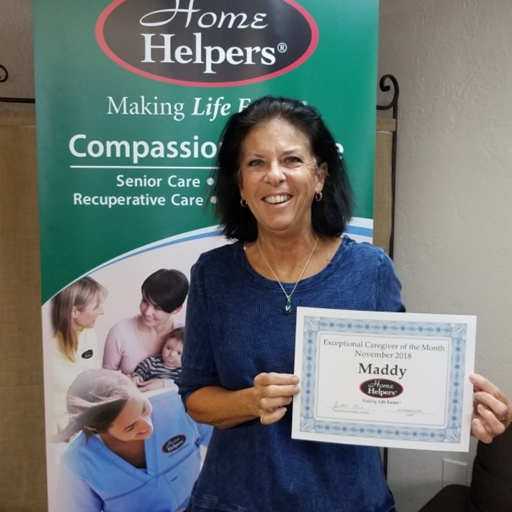November 2018 Exceptional Caregiver of the Month - Home Helpers of Bradenton