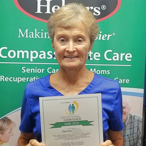 June 2019 Exceptional Caregiver of the Month - Deirdre