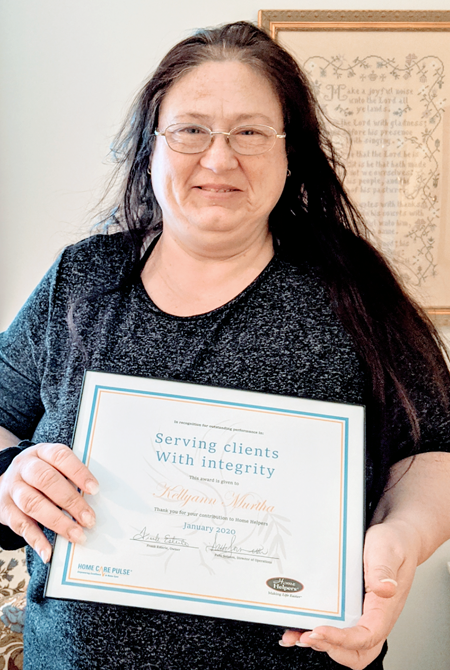 Caregiver of the Month for January 2020