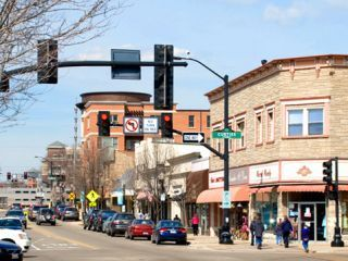 downtown Downers Grove, Illinois