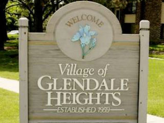 glendale heights city welcome sign